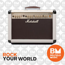 Marshall AS50D Acoustic Guitar Amplifier Limited Edition CREAM Combo Amp 50W 2x8