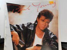 "Paul Young 1985 World Tour The ""9"" go mad w/ Davy Crockett Concert Program B14"