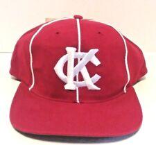 NWT Kansas City 1948 Monarchs Negro League Baseball Hat Cap Red White Snap Back