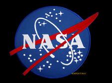XL FLIGHT CENTER LOGO SEAL PATCH NASA VECTOR MEATBALL US VETERAN GIFT PIN UP WOW
