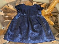$545 AUTH BONPOINT RARE STUNNING SPECIAL COUTURE FORMAL JACQUARD PARTY DRESS  6