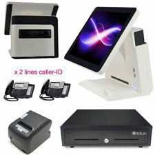 "15"" All In One Touch Screen POS System Restaurant Point Of Sale"