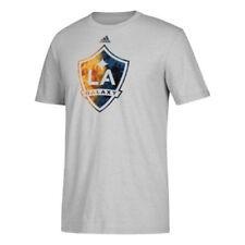 Camisetas de fútbol de clubes americanos y liga MLS de manga corta grises adidas