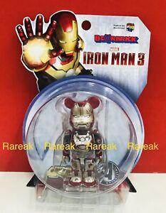 Medicom Be@rbrick 2015 Marvel Iron Man 3 Mark XLII 42 Damage 100% Bearbrick