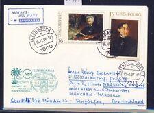 55977) LH FF München - Marseille France 6.1.97, Karte ab Luxemburg