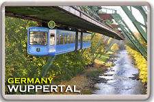 WUPPERTAL GERMANY FRIDGE MAGNET SOUVENIR IMAN NEVERA
