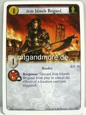 A game of thrones LCG - 1x Islas del Hierro Brigand #082 - The Captain 's Command