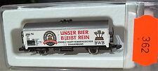 Notre Bière reste pur DWB, Kolls 88026 Märklin 8600 Voie Z 1/220 362