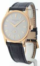 Patek Philippe Calatrava 5196 18K Rose Gold Mens Watch with Box 5196R
