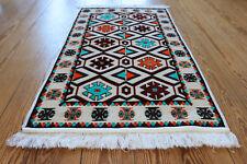 65x120 cm ORIENTAL TAPIS, Tapis, Kelim , Tapis, damaskunst rug S 1-2-05