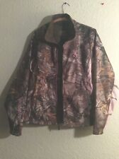 Browning Women's Med. Mossy Oak Pink Camo Ultra-Light Jacket Coat NWOT