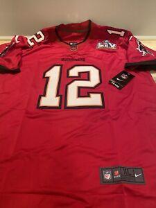 NWT-Tampa Bay Buccaneers MENS XL Tom Brady Super Bowl Champion Jersey Amazing!!