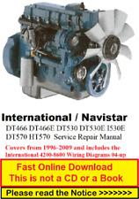 International Dt466 Dt466E Dt530 Dt530E I530E Dt570 Ht570 Service Repair Manual