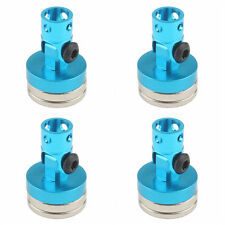 RC Car STEALTH  MAGNETIC BODY MOUNT 5MM Body Post  *SET OF 4* BLUE
