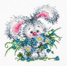 Cross Stitch Kit Happy birthday (bunny) art. 18-61