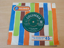 """EX !! Jimmie Rodgers/A Little Dog Cried/1961 Columbia 7"""" Single"""