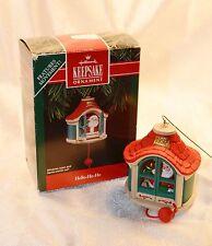 1992 Hello-Ho-Ho Santa Claus Workshop - Hallmark Christmas Tree Ornament in Box