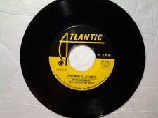 "Ruth Brown & The Delta Rythm Boys 45  rpm ""Sentimental Journey"" ATLANTIC 1023"