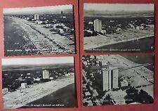 ravenna - lotto 4 vedute aeree milano marittima grattacielo - 1960