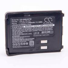 Batterie 1500mAh pour Kenwood TH-F7E, TH-FTE, PB-42, PB-42L