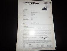 Original Service Manual Philips  22GA247