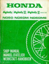 Honda ND50 ND50M ND50MS Shop Manual