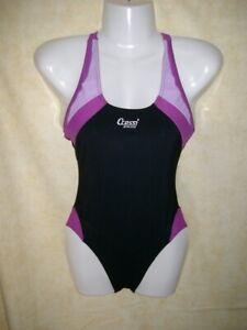Badeanzug Schwimmanzug schwarz-pink von CRESSI Gr.36 - NEUWARE
