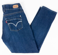 Levis 529 Curvy Skinny Leg Womens Jeans Dark Wash Size 12M 31/32