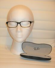 Ray Ban Eyeglass Frame RB5187  2445 Tortoise Brn  50/16  140mm with Ray Ban Case