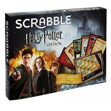 Harry Potter Scrabble Edition Board Game with Sorting Hat from Mattel DPR77