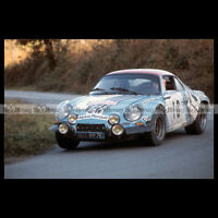 #pha.020629 Photo ALPINE A110 JEAN-PIERRE NICOLAS TOUR DE CORSE RALLY WRC 1974