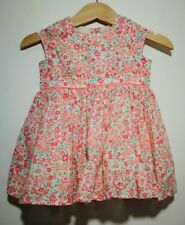 Perfect Condition Baby Girl 0-3 Months Roses Floral Summer Dress From Next