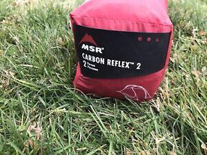MSR CARBON REFLEX 2 Ultralight Tent With Footprint