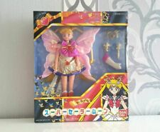 Super S Sailor Moon Puppe Butterfly Figur Doll Rainbow Chalice Spiral Heart Rod