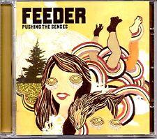 FEEDER - PUSHING THE SENSES - JAPANESE RELEASE CD ALBUM + BONUS TRACKS - MINT