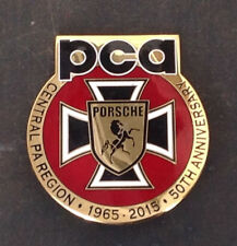 Pca Porsche Club Of America Central Pennsylvania Region 50 Year Car Grille Badge