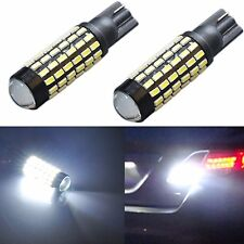 JDM ASTAR Backup Reverse LED Light Bulb 2x 78SMD High Power White 921/912 T10/15
