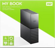 WD WESTERN DIGITAL MY BOOK 4TB HIGH CAPACITY 3.0 *Brand New & Factory Sealed*2