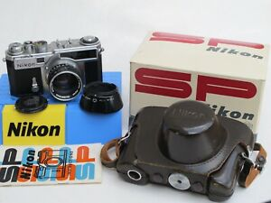 Nikon SP rangefinder camera with 50/1.4 lens, case/strap/IB/BOX, US SELLER LQQK