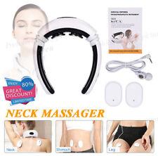 Neck Electric Pulse Back Massager Cervical Vertebra Instrument Treatment Tool