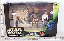 KENNER STAR WARS POWER OF THE FORCE PURCHASE OF THE DROIDS FIGURE SET BOXED