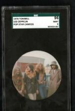 LED ZEPPELIN / 1970 POP STAR CAMEO CARD / SCG GRADED MINT!