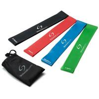 Starwood Sports Resistance Loop Bands - Fitness Yoga Physio - Premium Set of 4