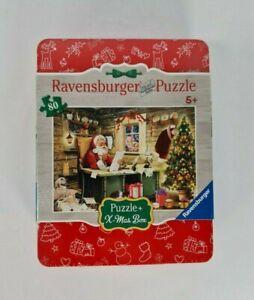 New: Ravensburger Letters to Santa Jigsaw Puzzle + X-Mas Box 80 Pieces Christmas