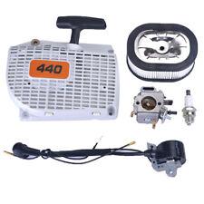 Vergaser Carburetor Reversierstarter Zündkerze für Stihl 044 046 MS440 MS460