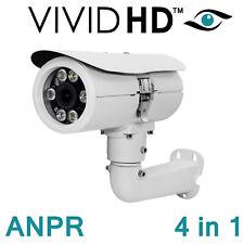 ANPR CCTV CAMERA VIVID HD 4 IN 1 TVI CVI AHD CVBS 1080P NUMBER PLATE RECOGNITION