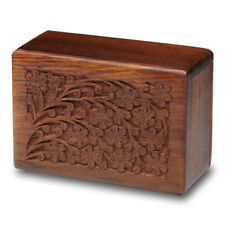 Rosewood Cremation Urn - 2nd Quality - Bargain! - Small Size - Tree of Life