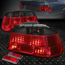FOR 95-01 BMW 7-SERIES E38 RED/SMOKED LENS TAIL LIGHT REAR BRAKE REVERSE LAMPS