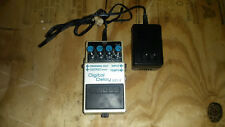 Boss DD5 with built in tap tempo Alchemy Audio mod with analog/digital switch