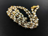 Lovely Bellagio Crystal Jewellery Necklace Signed